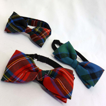 Burns Night, Bow Tie, Lightweight Wool Tartan (Ready Tied)