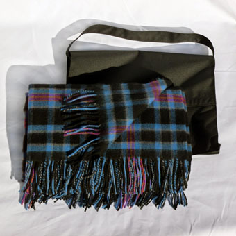 Lambswool Rug in Corporate Tartans
