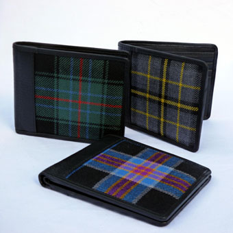 Wallets in Corporate Tartans
