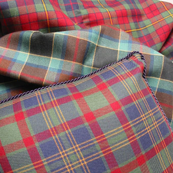 House of Tartan: Fabric, Tartan, Mediumweight, Irish County