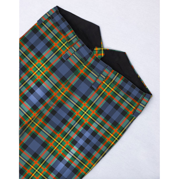 Trews with High Waisted Back, MacLellan Tartan
