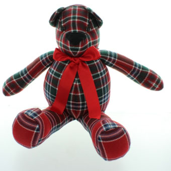 Toy, Tartan Teddy, Plaid Teddy in 500 Tartans