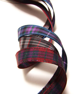 Ribbon, Pride of Scotland, Polyester 10mm