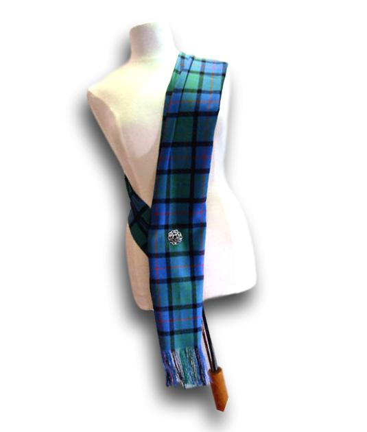 Burns Night, Tartan Sash, Lightweight Wool