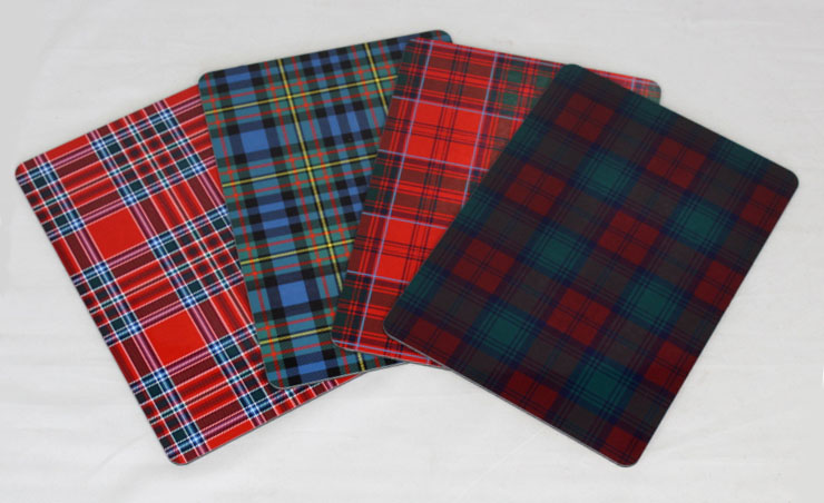 Tartan Placemats, Table Mats in ANY Tartan