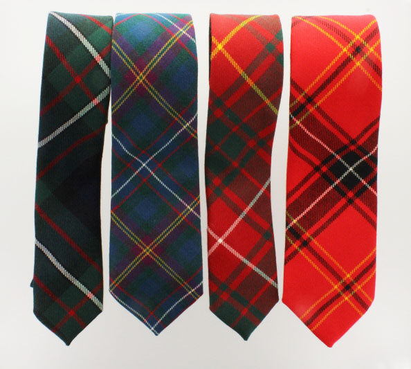 Tie, Necktie in ANY Tartan, Handmade Single