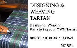 Designing & Weaving Tartan Designing, Weaving and Registering your OWN Tartan